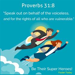 FosterToday proverbs verse