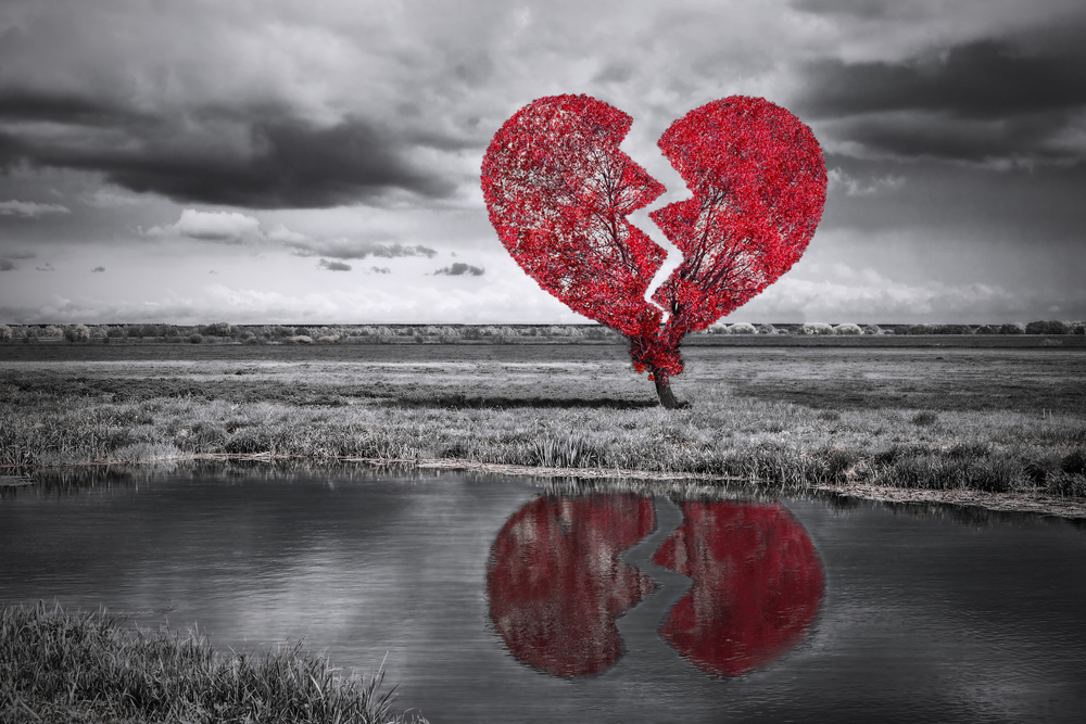 heart broken storms in life