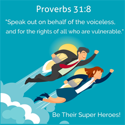 Foster super heroes
