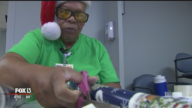 Tampa General Hospital employees make spirits bright for kids in foster care