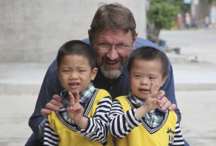 The Briton who introduced foster care to China – 'it was the place where I was supposed to be'