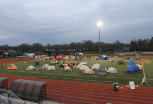 Reggie' story continues in Ames Reggie's Sleepout Event