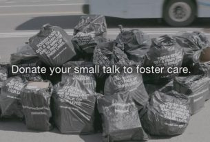 #DonateYourSmallTalk to raise awareness for foster care