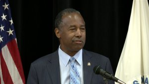 'Effort to combat homelessness:' Sec. Ben Carson stops in Milwaukee to announce new initiative