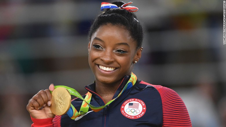 Simone Biles: I went from foster care to the Olympics