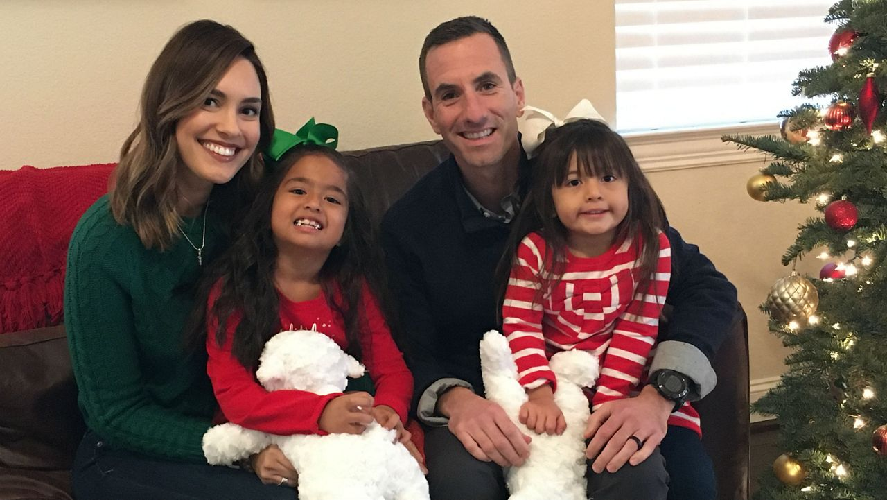 Former Foster Family Celebrating First Christmas After Adoption