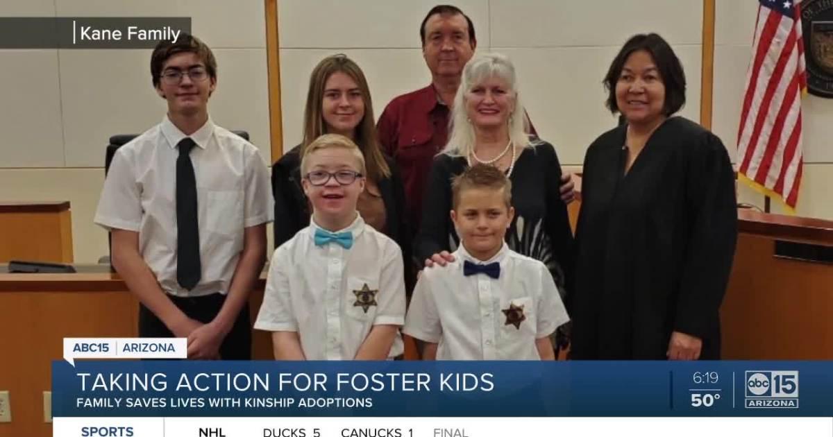 Kinship foster homes help 160,000 kids around Arizona