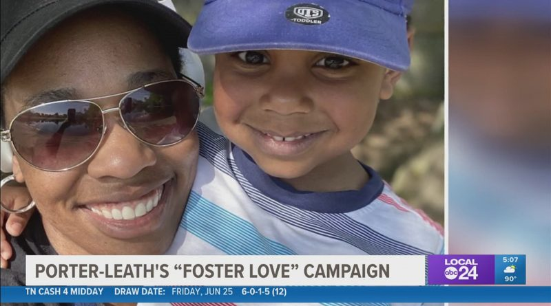 Porter-Leath says there's a great need for foster parents in Shelby County