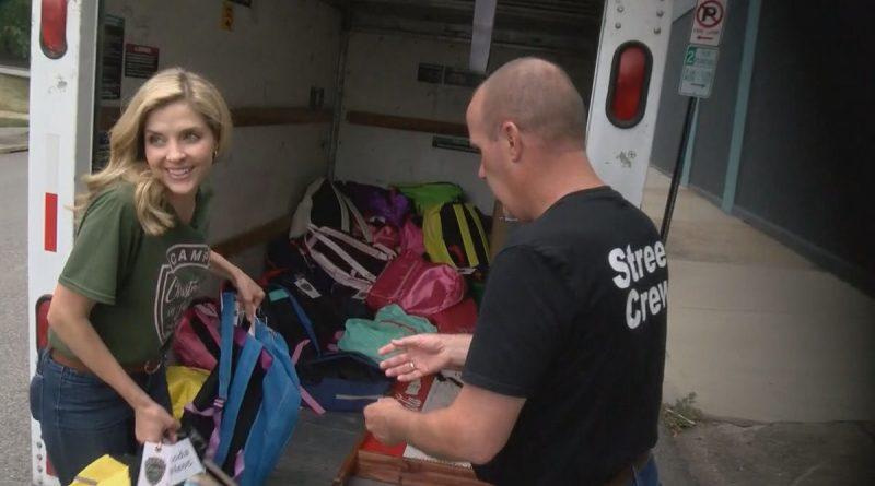 Children in foster care receive celebrity treatment